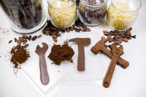Narzędzia czekoladowe - Muzeum Czekolady Warsztatownia